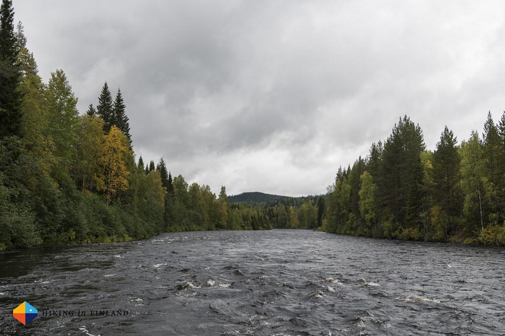 The Öreälv river