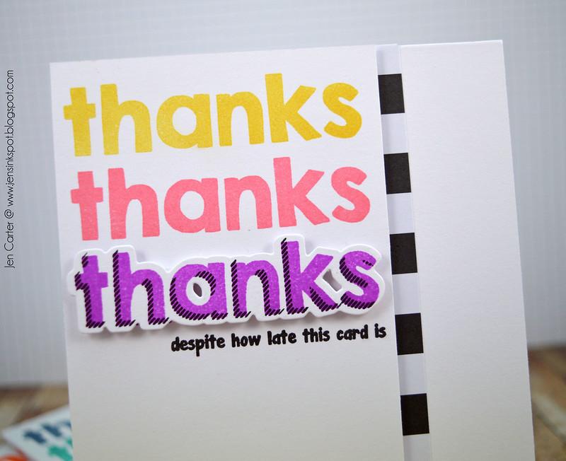 Jen Carter Thanks Late Purple CLoseup