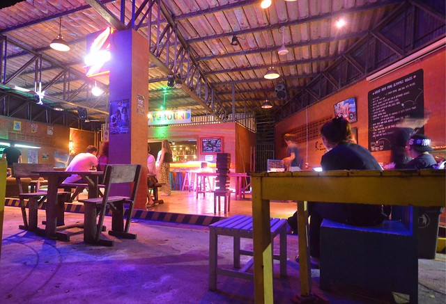 pak-up hostel krabi thailand playground bar