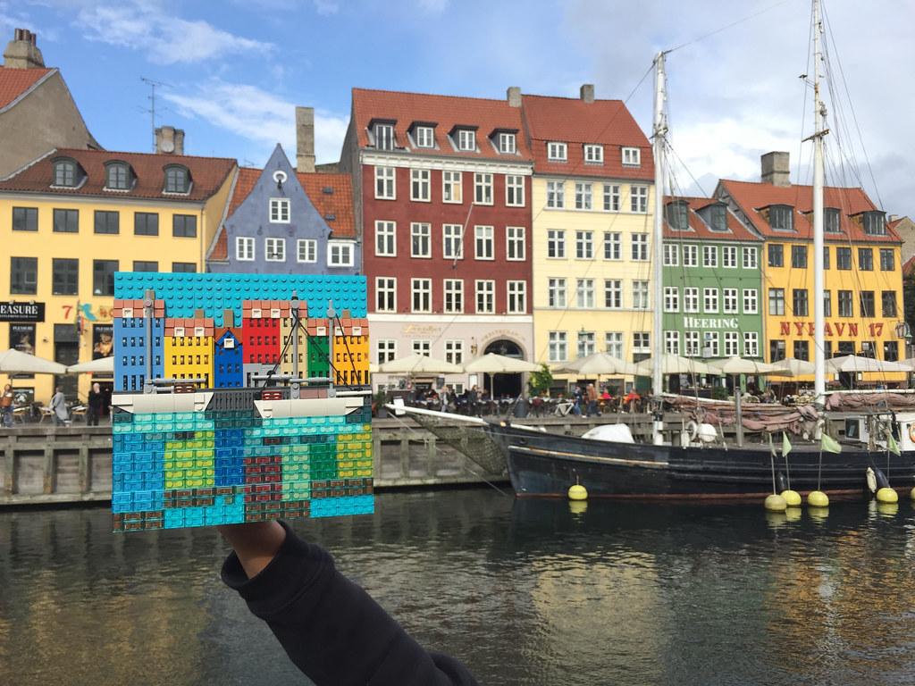 Nyhavn (New port), Copenhagen, Denmark