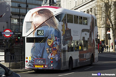 Wrightbus NRM NBFL - LTZ 1298 - LT298 - GiGi - Marylebone 453 - Go Ahead London - London 2017 - Steven Gray - IMG_5788