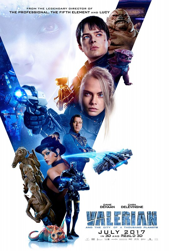 Valerian and the City of a Thousand Planets - Poster 3