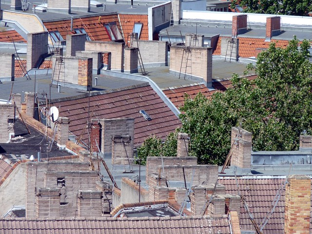 Berlin rooftops