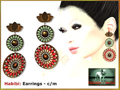 Bliensen - Habibi - Earrings
