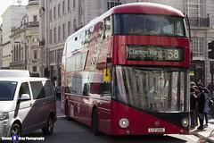 Wrightbus NRM NBFL - LTZ 1206 - LT206 - Clapton Pond 38 - Arriva - London 2017 - Steven Gray - IMG_6164