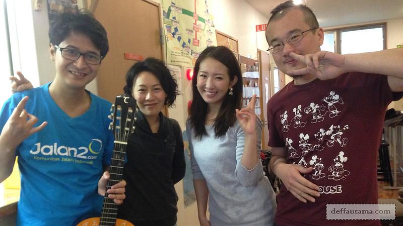 2 Hari Keliling Osaka - New Friends