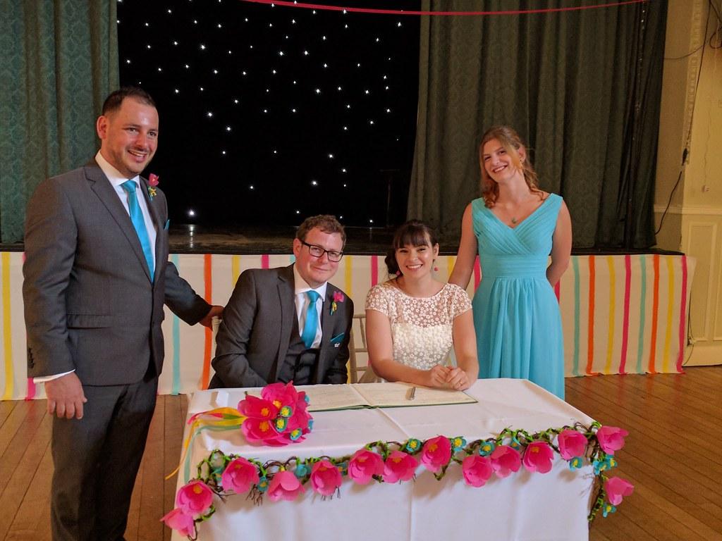 Wedding DIY's - ceremony table