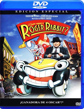 ¿Quién engañó a Roger Rabbit?  (1988) (Animación) (DVD-9) (Castellano,Inglés, Alemán)