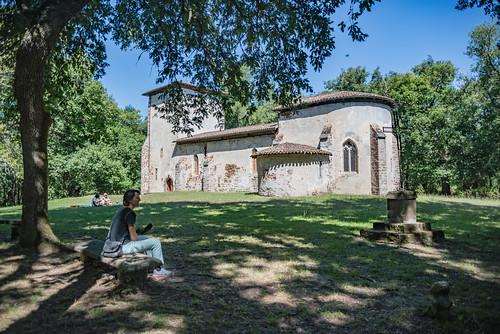 02-Eglise du Vieux Lugo un dimanche d'août