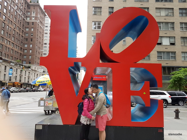 LOVE sign NYC