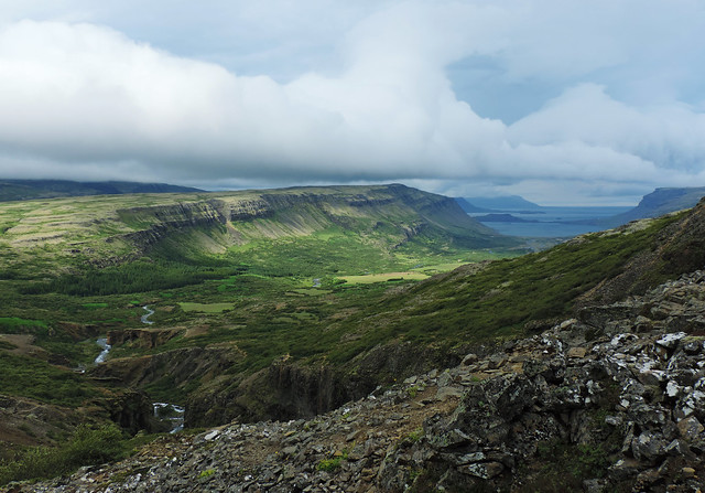 Hike to Glymur, Iceland