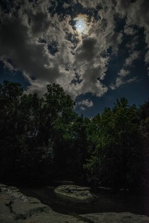 Partial Solar Eclipse at Brushy Creek
