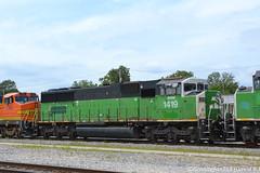 BNSF 1419 EMD SD60M