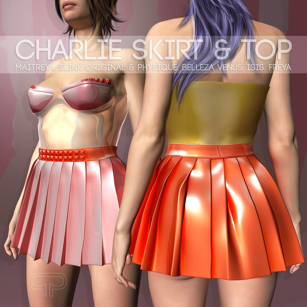 Pure Poison - Charlie Skirt & Top AD - SecondLifeHub.com