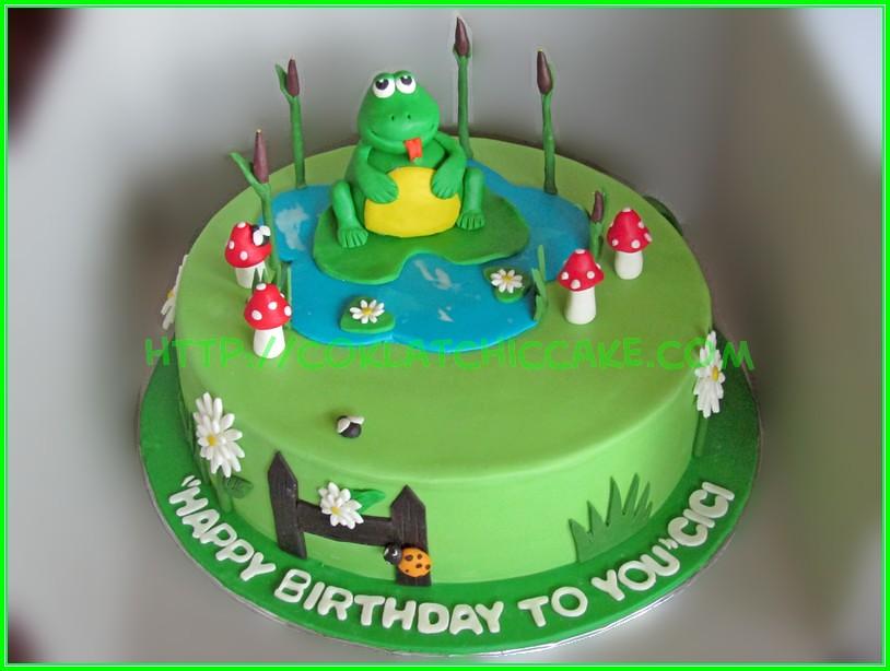 cake frog