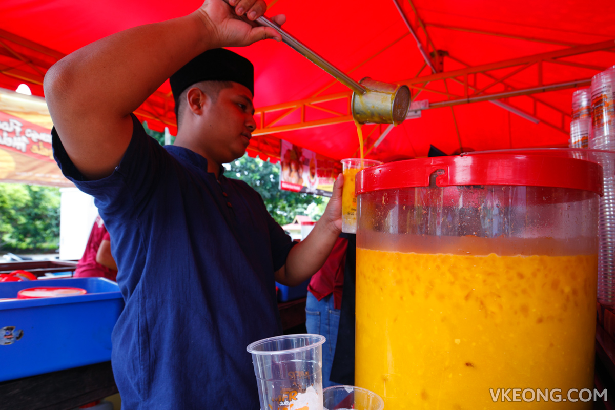 Mango Float Royale Melaka Mango Juice
