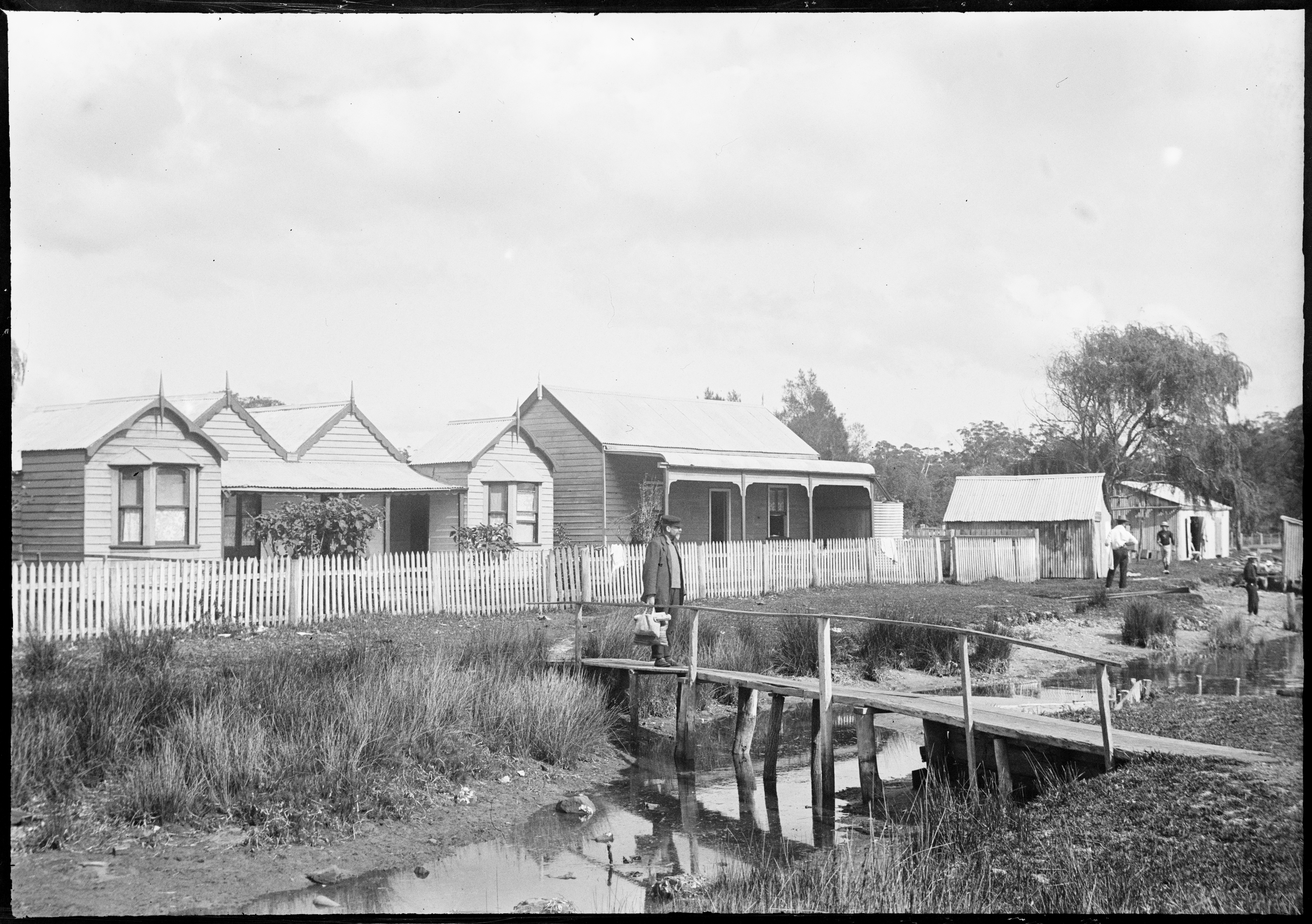 Glass negatives of the Woy Woy area, ca 1890-1910, by William Joseph Macpherson