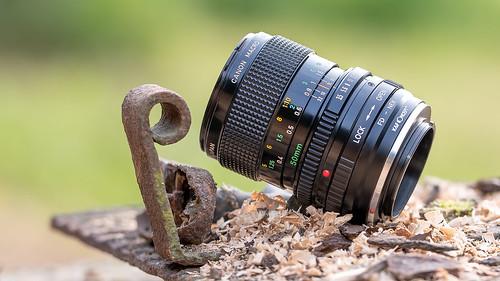 Canon FD 50mm ƒ/3.5 Macro | SONY E-mount