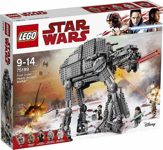 原來機械獸也會有厚到下巴嗎?!LEGO 30497 星際大戰系列【第一軍團重型裝甲走獸】First Order Heavy Assault Walker Polybag