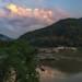 dawn on the Mekong
