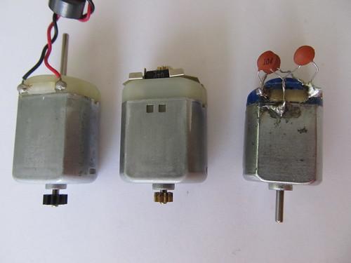 Tre differenti motori