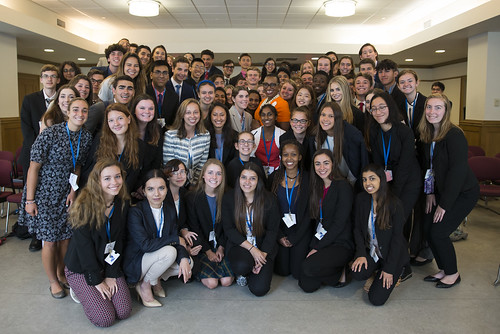 INTL Students Meet Ms. Sandie Okoro