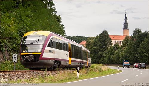 Städtebahn Sachsen 642 328 @ Weesenstein
