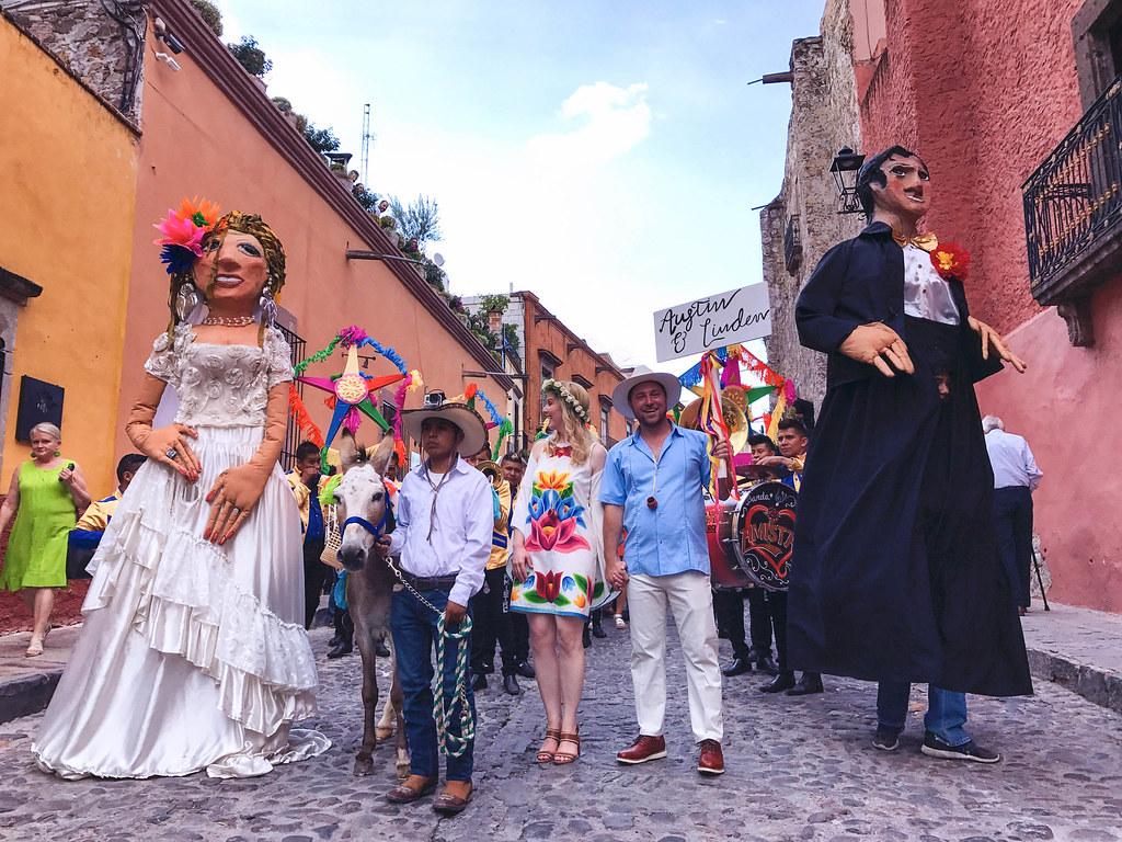 Paseo por San Miguel de Allende