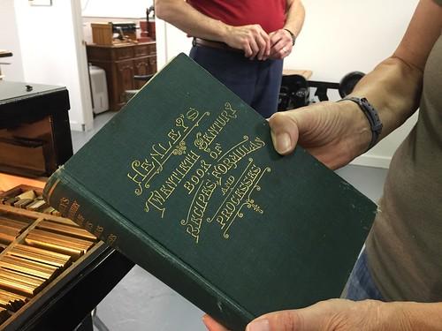 A finished restored book - Minnesota Book Restoration