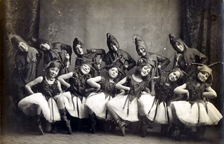C. 1910 Miss Spencer's School of Dancing