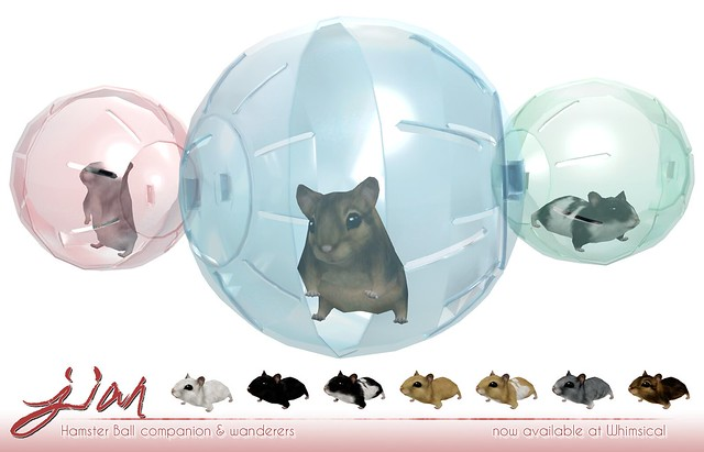JIAN Hamster Ball @ Whimsical