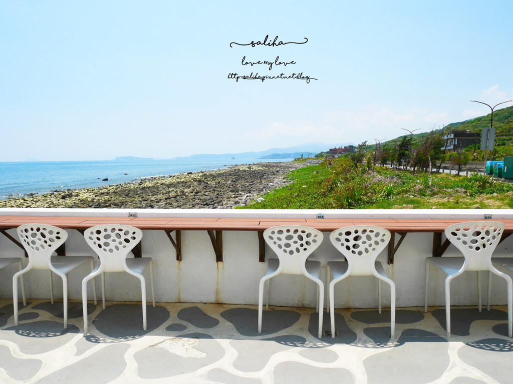 新北金山北海岸海景餐廳推薦洋荳子海邊咖啡館 (24)