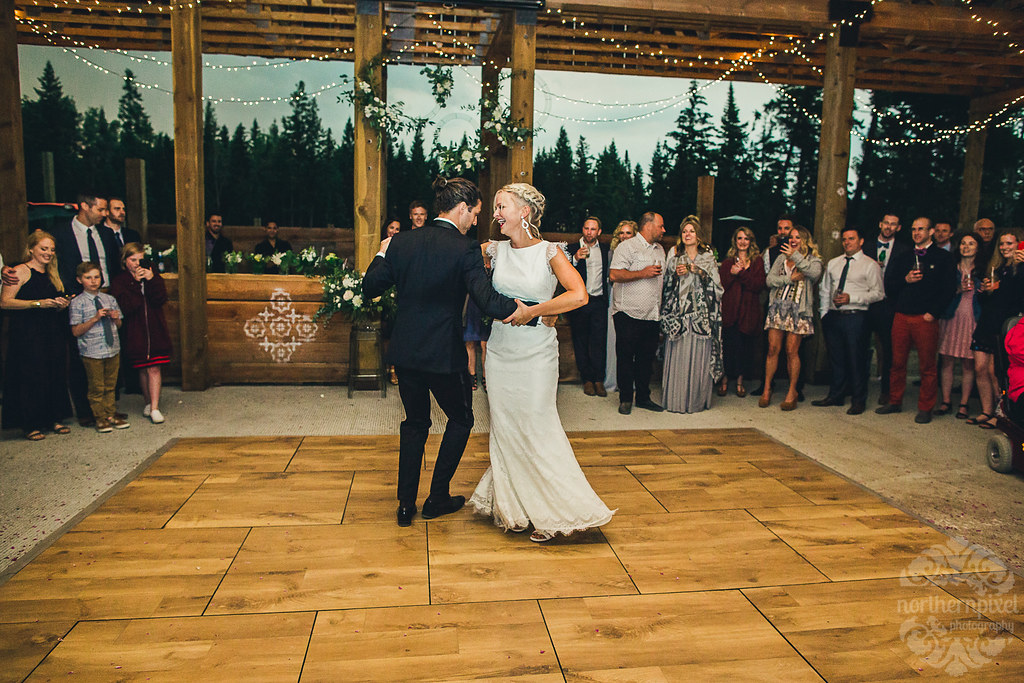 First Dance - Prince George BC Barn Wedding