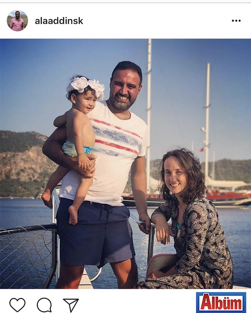 Alaaddin Işık, ailesi ile birlikte Kaş'ta keyifli bir tatil ile tüm yılın yorgunluğunu attı.