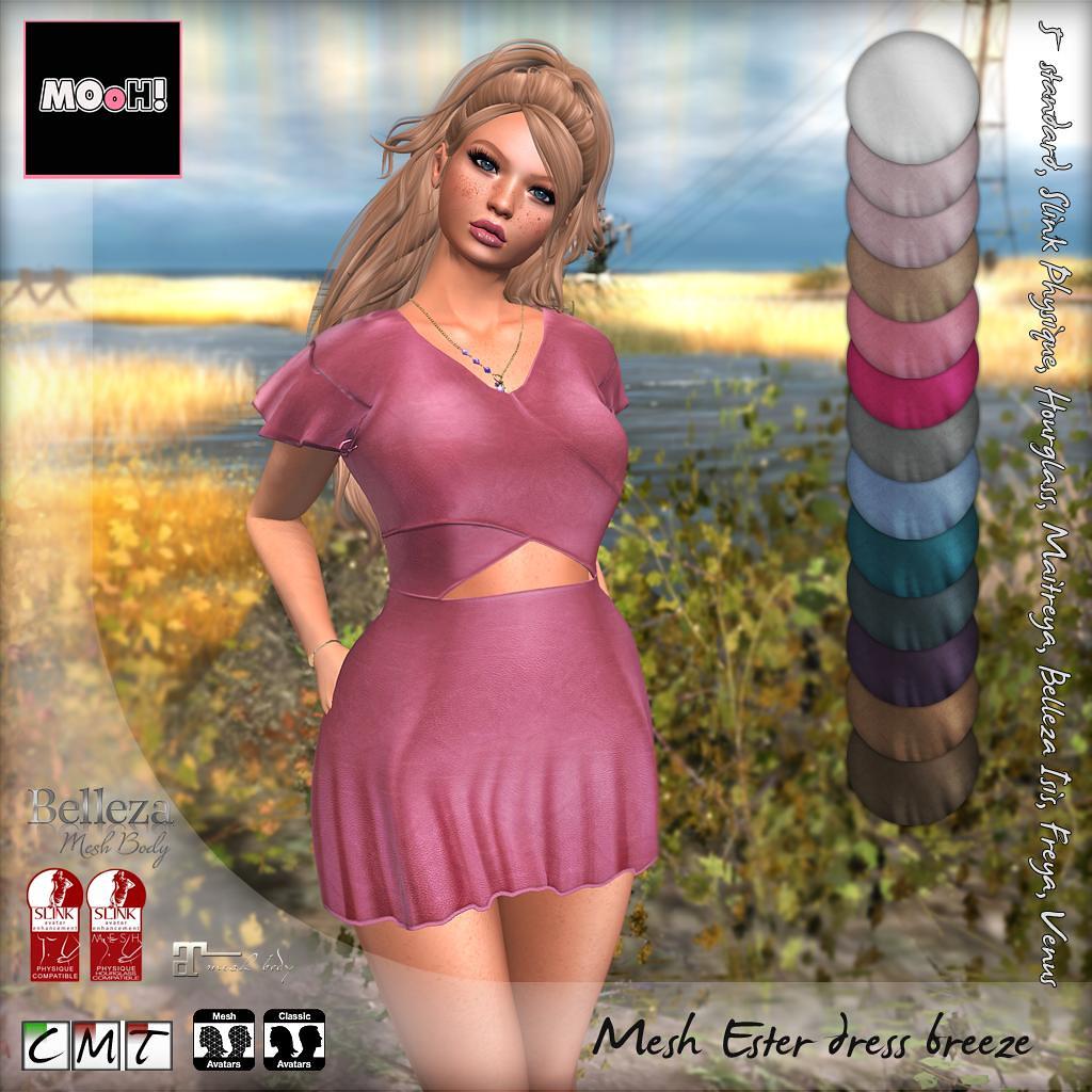 Ester dress breeze - SecondLifeHub.com