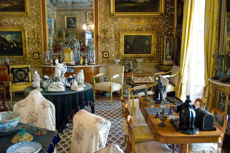 The Drawing Room at Calke Abbey, Derbyshire. Credit Thomas Quine