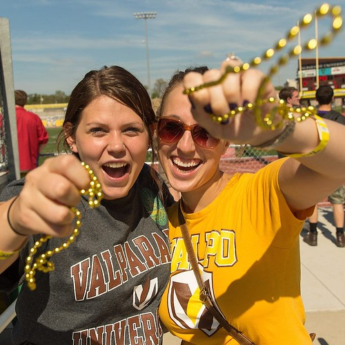 Our #MondayMotivation comes from knowing that this is waiting for us at the end of the week! Only four days until Homecoming! #GoValpo #ValpoHome17