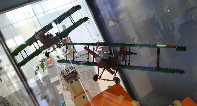 Wystawa Makiety Lego Zdobycie Ławicy 6 stycznia 1919 7