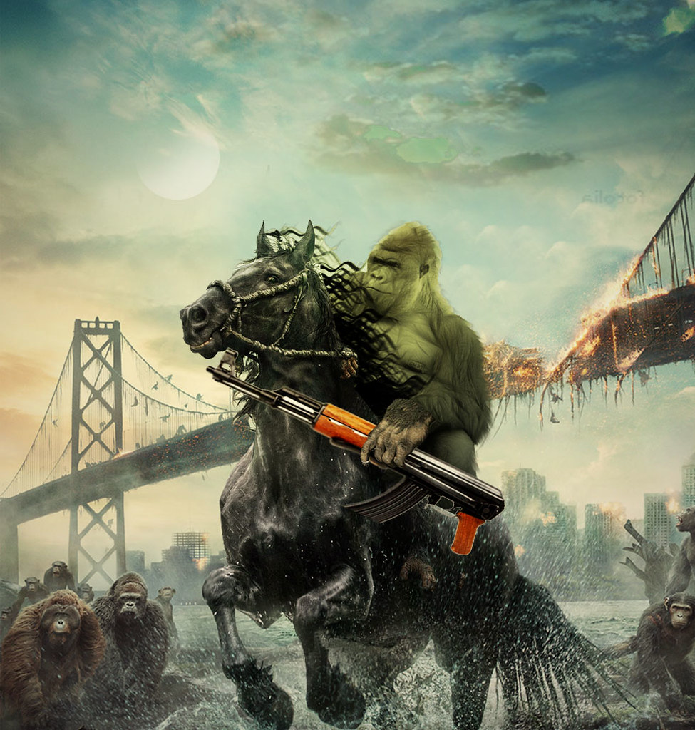 The war of the apes