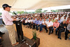 Manuel Velasco inauguró la granja porcícola de la empresa Con Marca