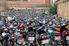Motorcycle impoundment lot in Shiraz, Iran by damonlynch