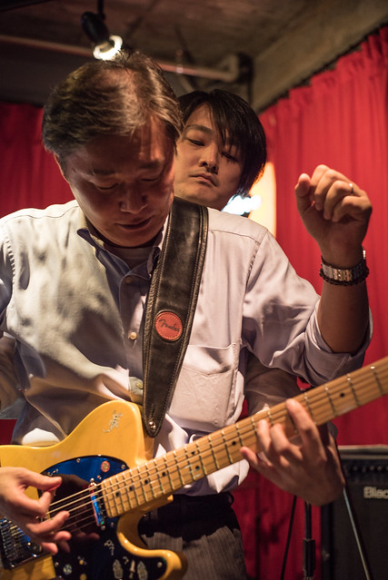 T.G.I.F. blues session at Terraplane, Tokyo, 08 Sep 2017 -00038