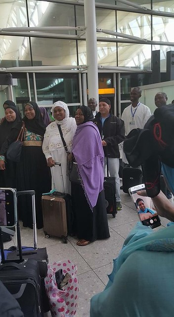 Departure to Mecca