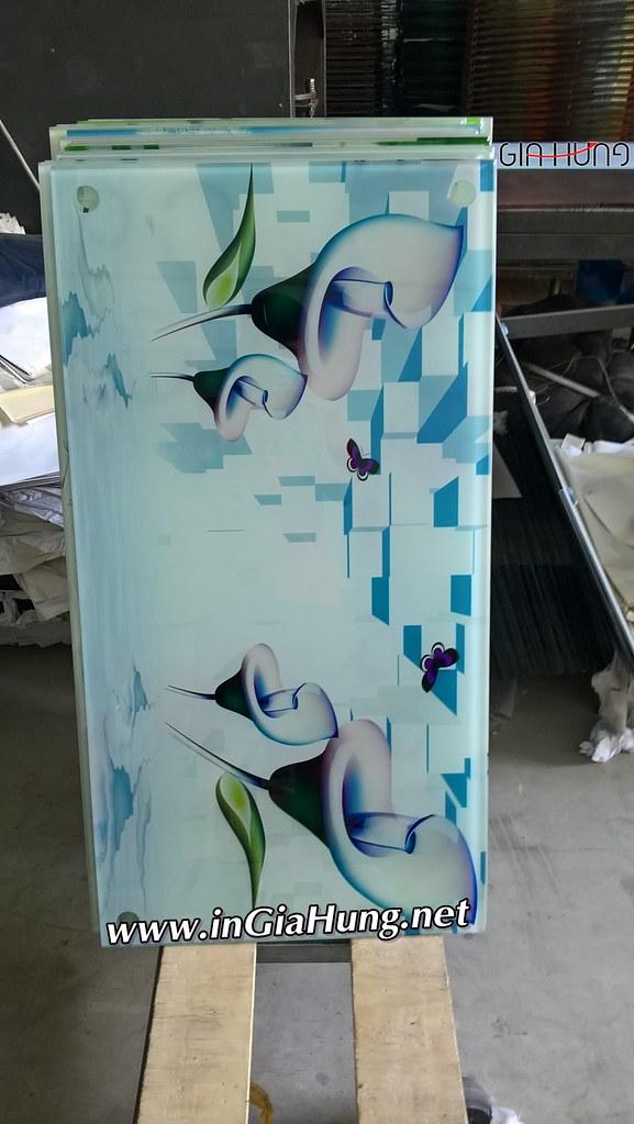 Xưởng Gia Hưng chuyên in mẫu mặt bàn sofa kính cường lực in 3D iGH 3158