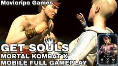 Mortal Kombat X Got Souls Diamond liu Kang Hellspawn Scorpion Tricks Walkthroughs Game Full Gameplay