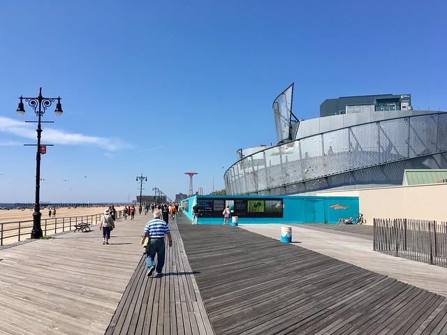 Coney Island Beach & Boardwalk - New York