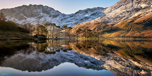 Winter Reflections Buttermere