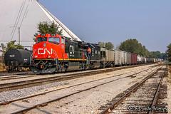 IC 2718 | GE C44-9W | CN Fulton Subdivision