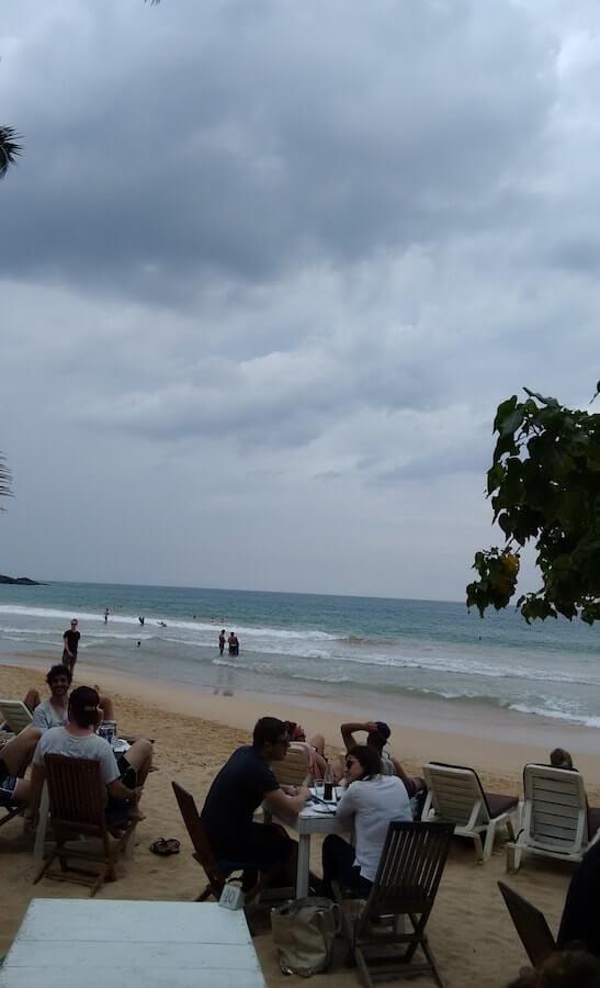 Mirissa Beach in Sri Lanka