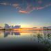 Sunset over Lake Manatee